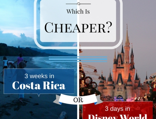 Costa Rica or Disney World?  Guess which is cheaper.