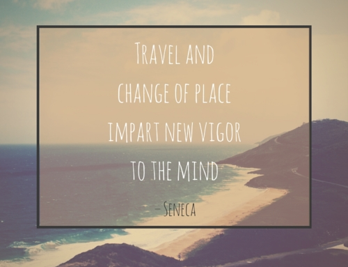 Friday Inspiration – Travel and Change of Place